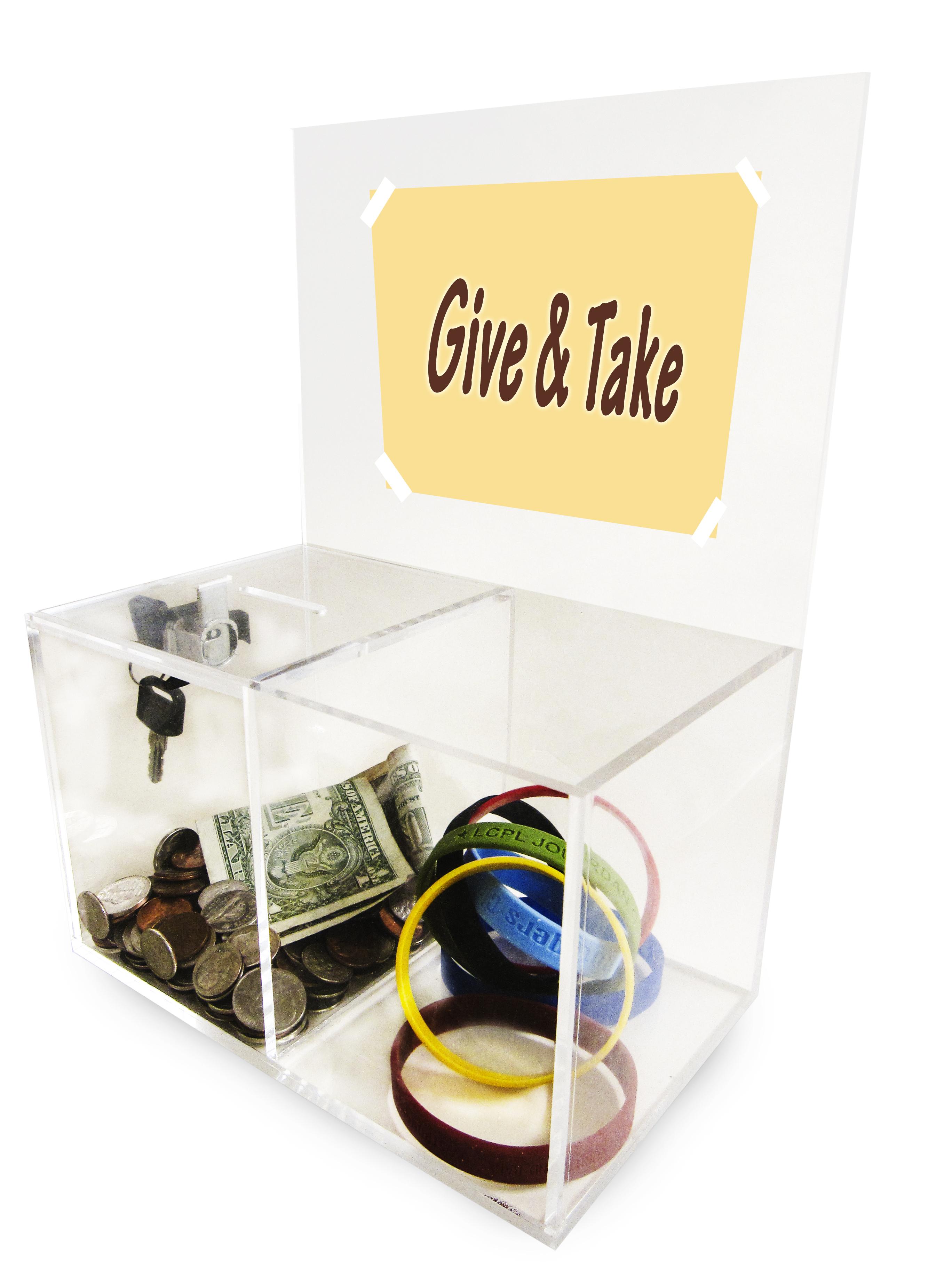 Give & Take Donation Box